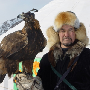 Eagles Hunting Wolves, Rabbits in IV National Tournament in Nura, Kazakhstan – Russia