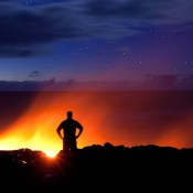 Desperate Photographer Went Closest to a Volcano in Hawaii, Kilauea.