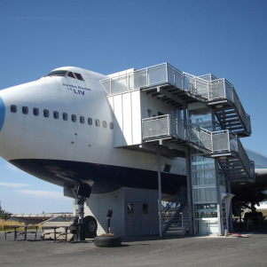 A Luxury Hotel in a Plane – Europe