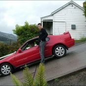 The World's Steepest Street in New Zealand