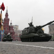 Russia marks Victory Day with a military parade on Red Square in Moscow