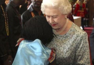 The Ugandan war orphan who hugged the Queen