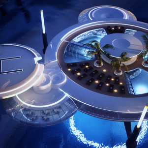 Beauty of Luxuries Underwater Hotel