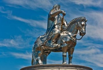 A Unique Statue of Chinggis Khan