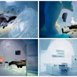 Incredibly Amazing Hotel Made Of Ice and Snow – Sweden