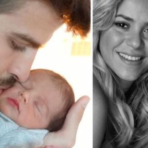 First Picture of Shakira's Son – Milan