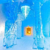 Magical ice hotel in Canada on a novel by Jules Verne…