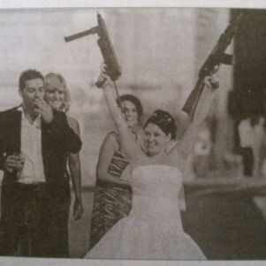 Bizarre Wedding Photos