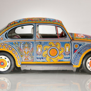 The Unique Car Made Of Beads – Mexico