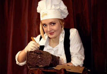 The Day of Chocolate in Lviv, a Chocolate Madness