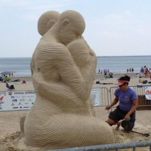 Pictures From Revere Beach Sand Sculpting Festival 2013