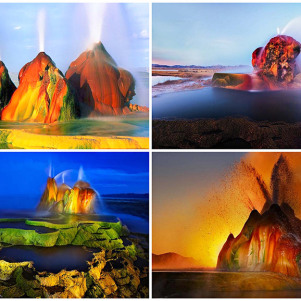 A Amazing Hidden Fly Geyser In Nevada You Will Not Believe…