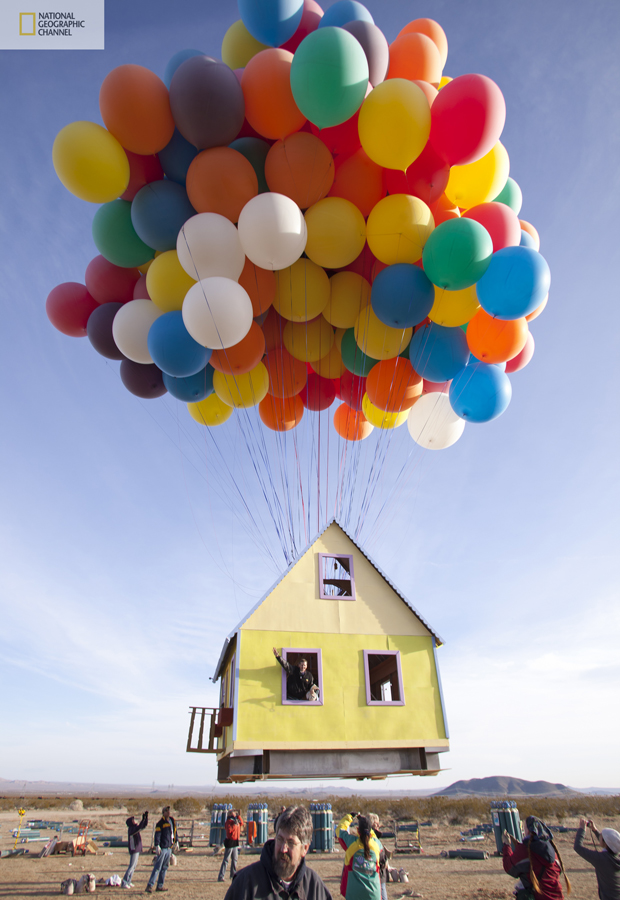 Real Flying House Like a Famous Movie UP - By National Geographic (1)