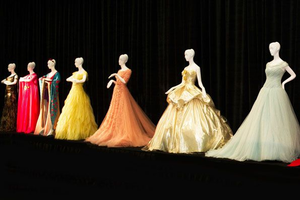 Beautiful Disney Princess Designer Gowns (1)