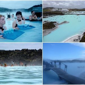 A Man Made Amazing Blue Lagoon Spa – Iceland