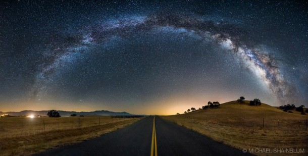 Stunning Miracle Star Scenery Astrophotography
