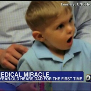 A Boy Hears His Fathers Voice First Time…(Lovely Video)