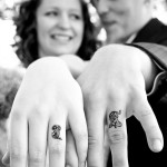 Amazing Couple Tattoo Instead of a Wedding Ring