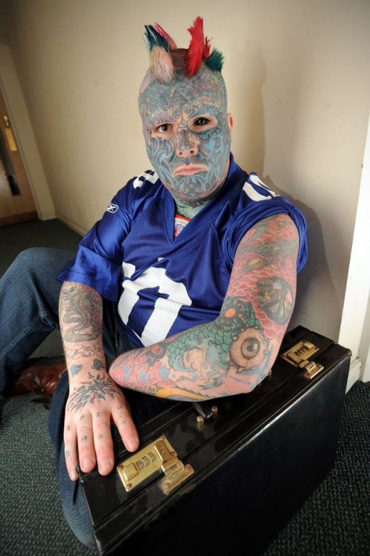 Check Out Most Tattooed Man in Britain - Odd (4)