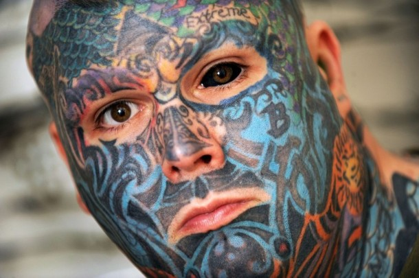 Check Out Most Tattooed Man in Britain - Odd (11)