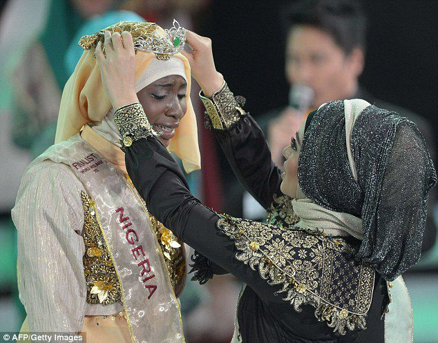Pictures of The First Beauty of Muslims World 2013