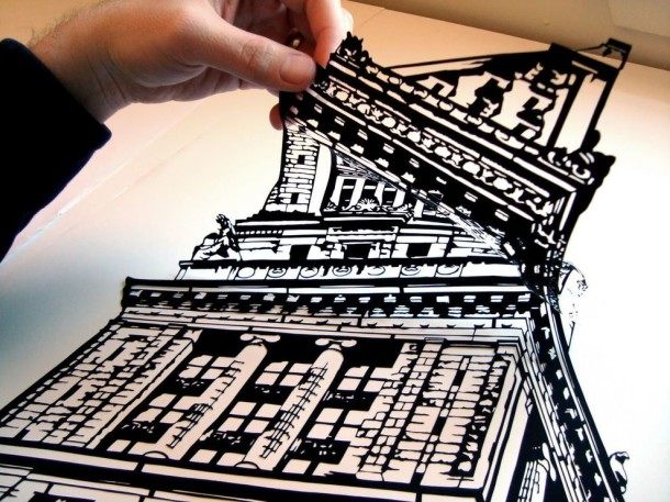 Amazing Paper Art - Black Clippings by Joe Bagley (4)