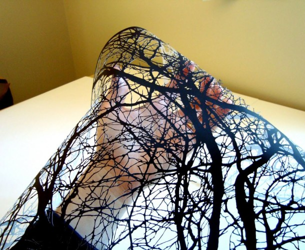 Amazing Paper Art - Black Clippings by Joe Bagley (9)