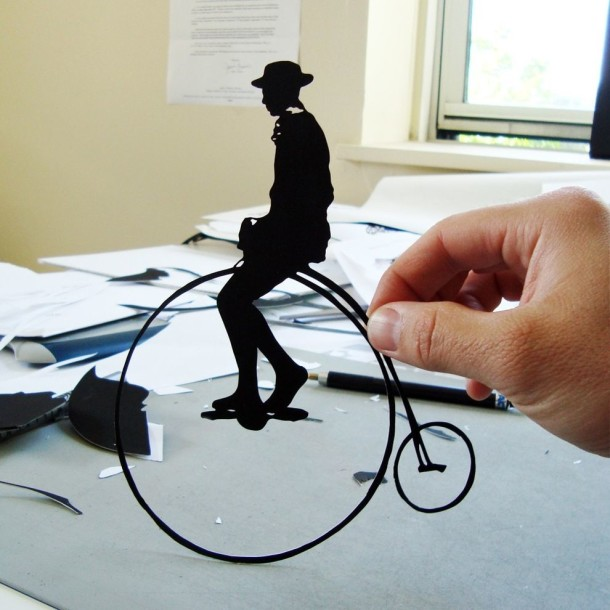 Amazing Paper Art - Black Clippings by Joe Bagley (10)