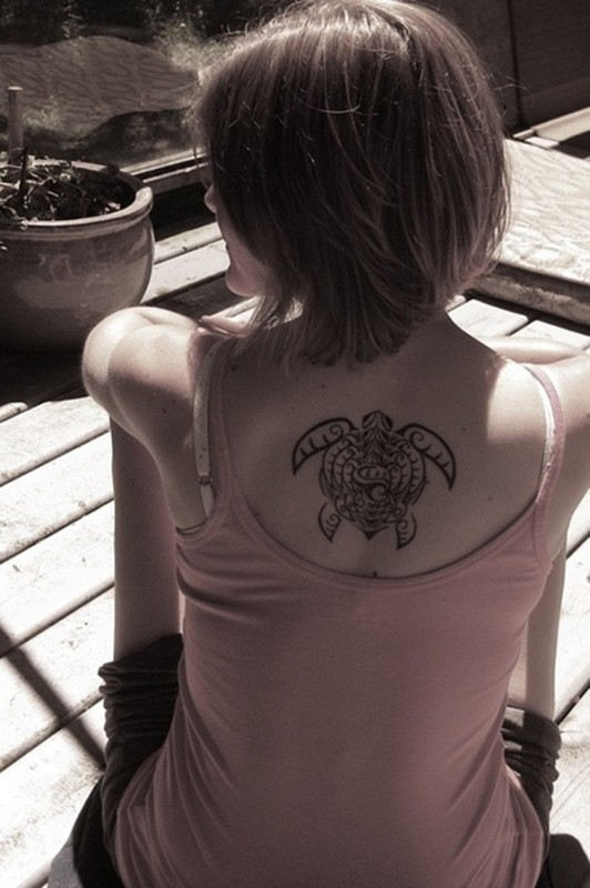 Lucky Turtle Tattoos For Boys And Girls (12)
