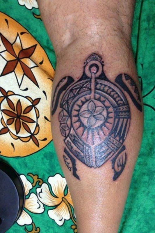 Lucky Turtle Tattoos For Boys And Girls (14)