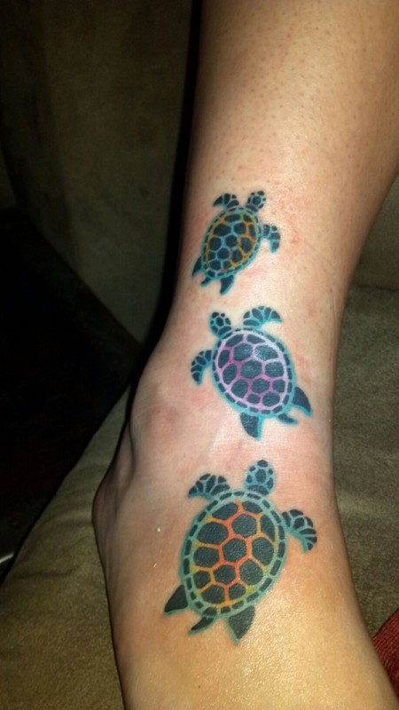 Lucky Turtle Tattoos For Boys And Girls (18)