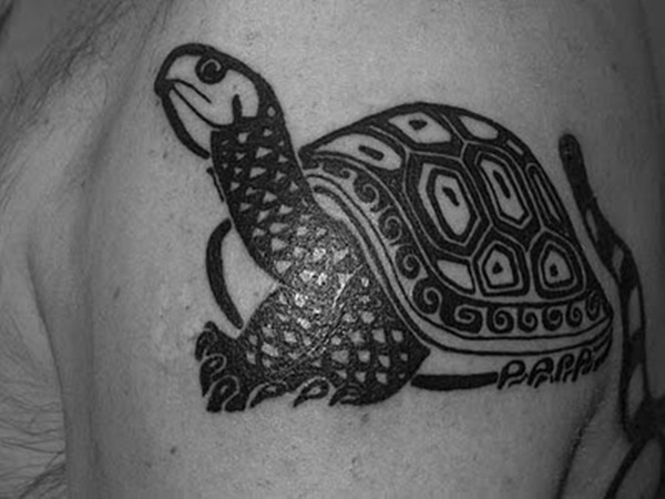 Lucky Turtle Tattoos For Boys And Girls (19)