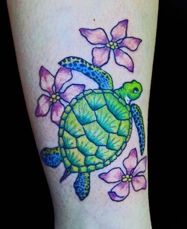 Lucky Turtle Tattoos For Boys And Girls (2)