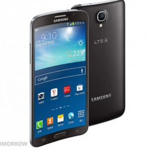 New Famous Samsung Galaxy With a Curved Screen