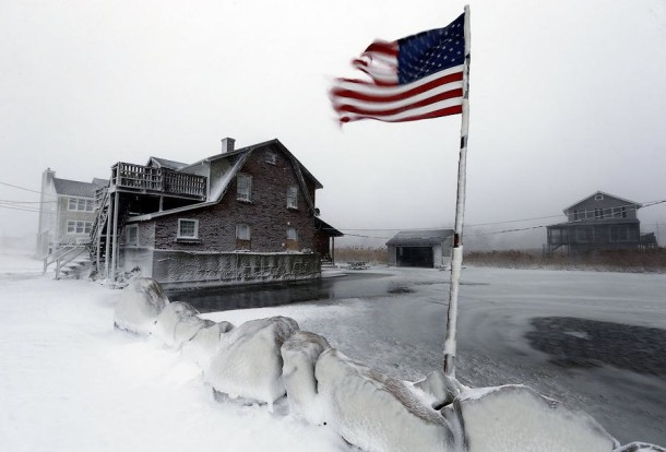 The United States Will Freeze to Minus 62 C. - NEW YORK (17)