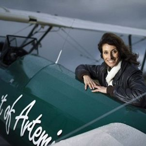 The Woman Repeated The Legendary Solo Flight At 13,000 km