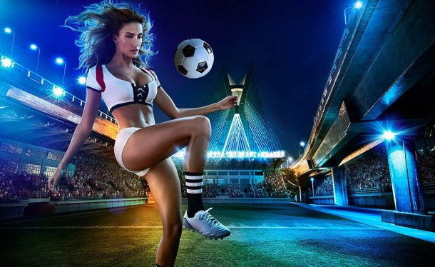 Football and Girls: Erotic calendar Presents The 2014 World Cup (12)