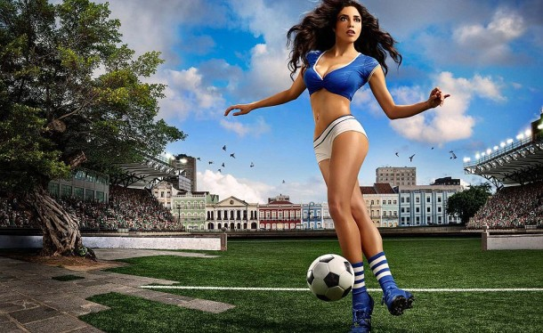 Football and Girls: Erotic calendar Presents The 2014 World Cup (11)