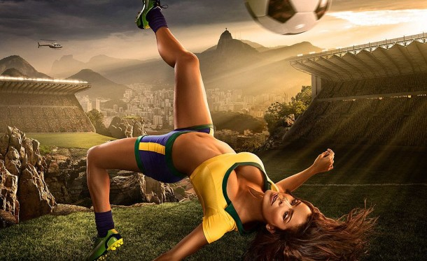 Football and Girls: Erotic calendar Presents The 2014 World Cup (8)
