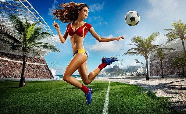 Football and Girls: Erotic calendar Presents The 2014 World Cup (7)
