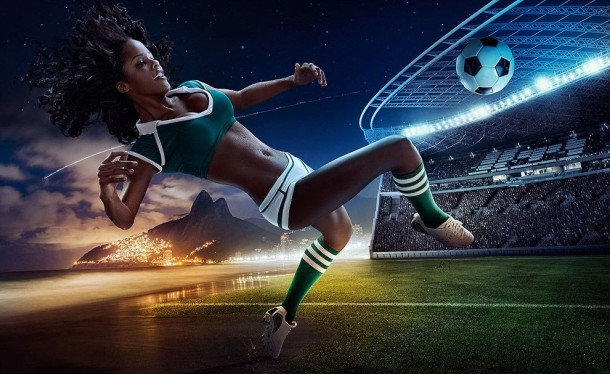 Football and Girls: Erotic calendar Presents The 2014 World Cup (6)