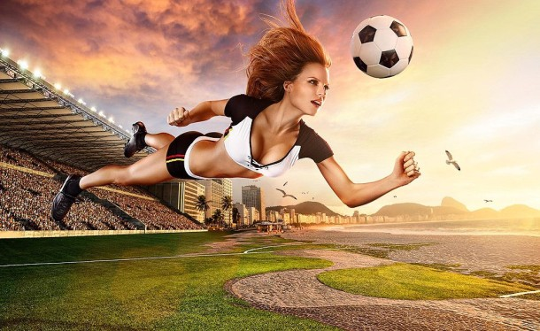 Football and Girls: Erotic calendar Presents The 2014 World Cup (5)
