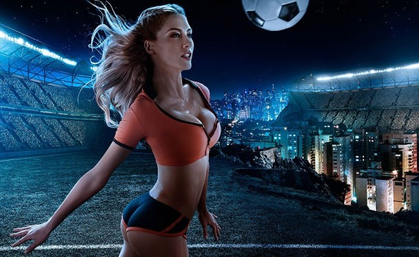 Football and Girls: Erotic calendar Presents The 2014 World Cup (4)