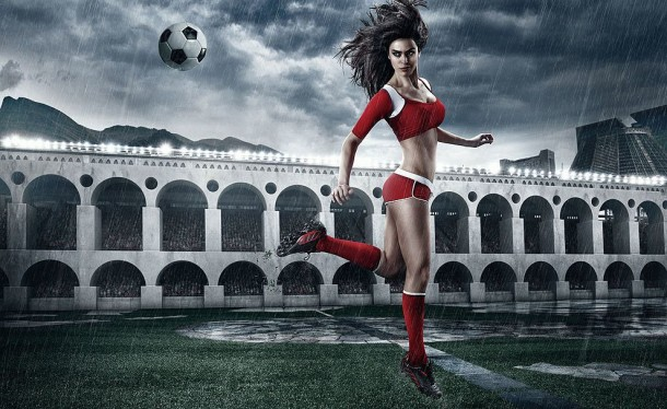 Football and Girls: Erotic calendar Presents The 2014 World Cup (3)