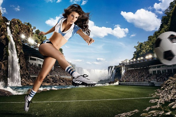 Football and Girls: Erotic calendar Presents The 2014 World Cup (2)
