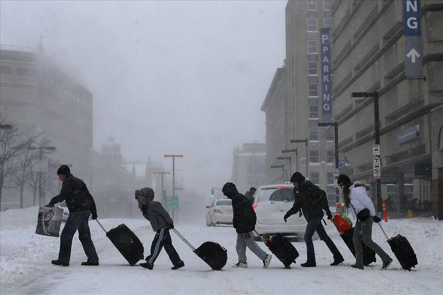 The United States Will Freeze to Minus 62 C. - NEW YORK (8)