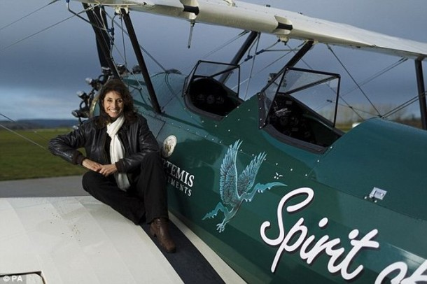 The Woman Repeated The Legendary Solo Flight At 13,000 km (1)