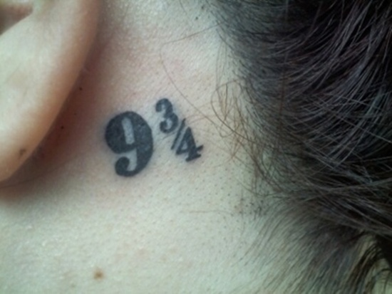 Behind Ear Tattoo Designs (7)