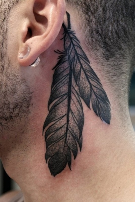 Behind Ear Tattoo Designs (4)