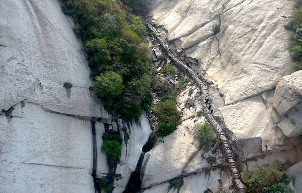 The Most Dangerous Pedestrian Track in The World (8)